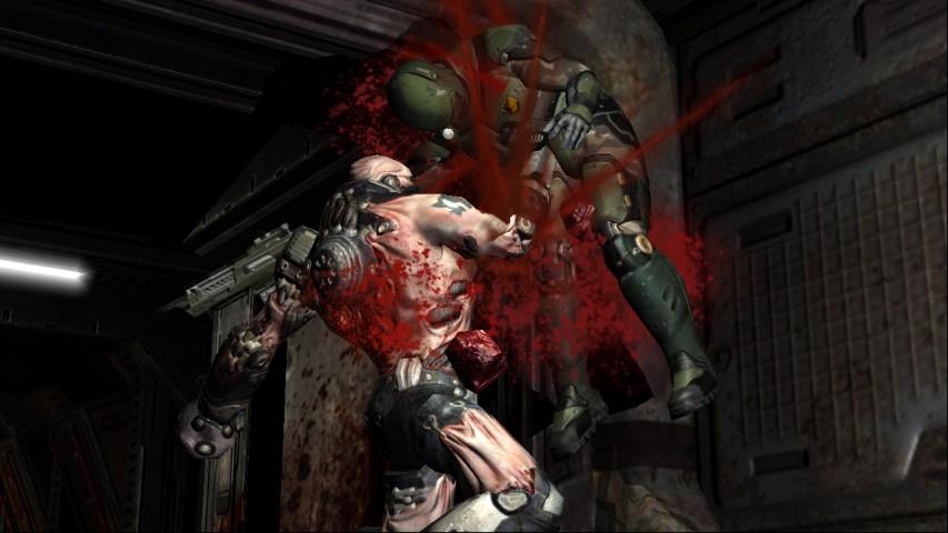 Quake 4 XBox 360 Review - www impulsegamer com -