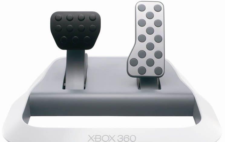xbox pedalen