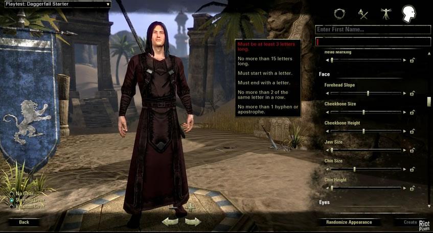 Character Creation In The Elder Scrolls Online Impulse Gamer