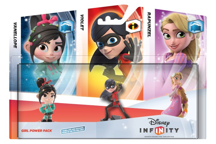 Disney Infinity Girl Power Triple Pack 2D