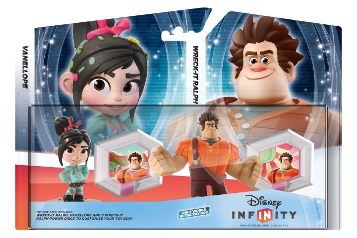 Disney Infinity Wreck-It-Ralph Toy Box Pack 2D