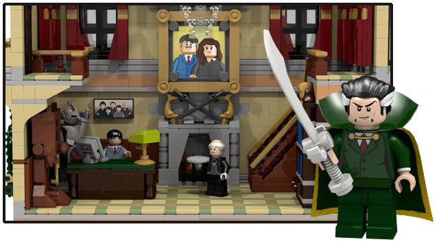 BATMAN LEGO - The Assault on Wayne Manor needs your help ...