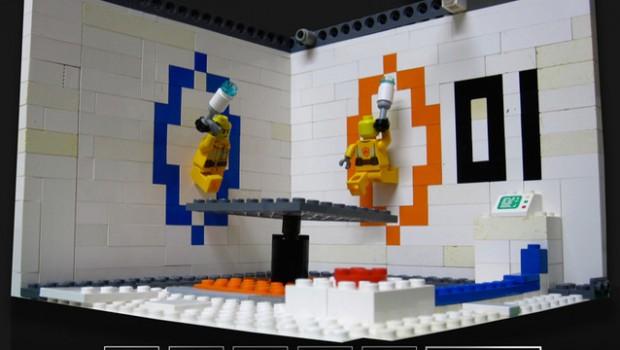 Lego Cuusoo Portal 2 Test Room Impulse Gamer