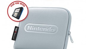 Nintendo 2DS Carrying Case Silver Box