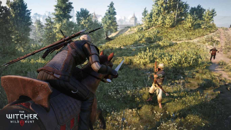 The_Witcher_3_Wild_Hunt_Geralt_of_Rivia_fighting_bandits