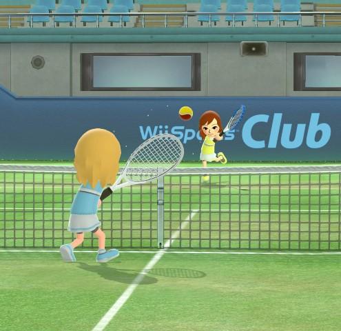 how to get wii sports club on wii u