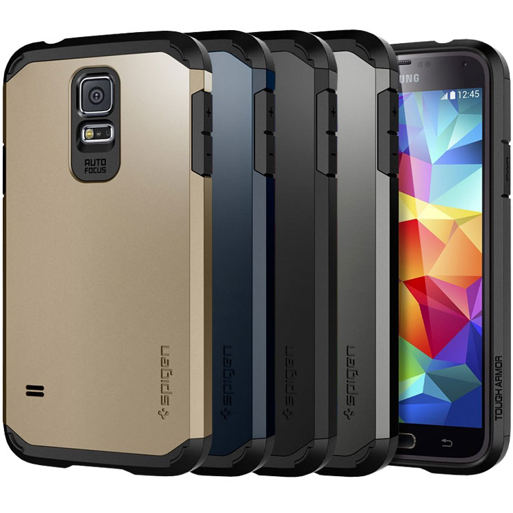 uk availability 529b2 060fa Spigen Tough Armor Case for Samsung Galaxy S5 Review - Impulse Gamer