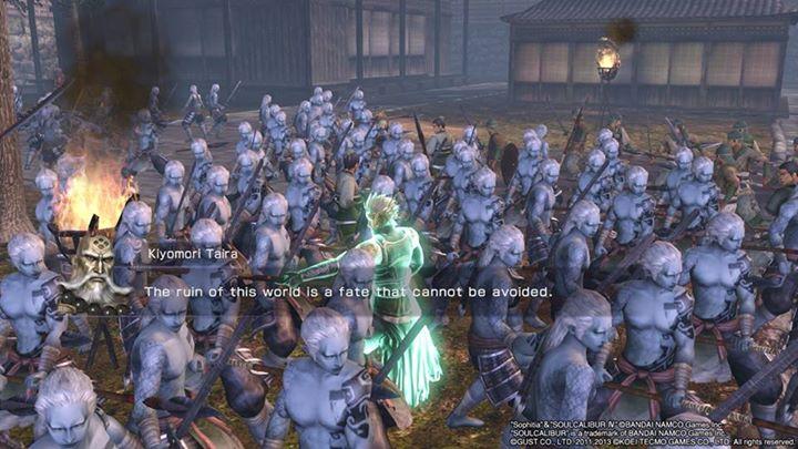 Bizarre sea of unmoving demons