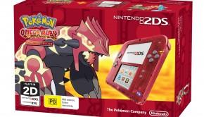 Nintendo 2DS Transparent Red + _Pokémon Omega Ruby