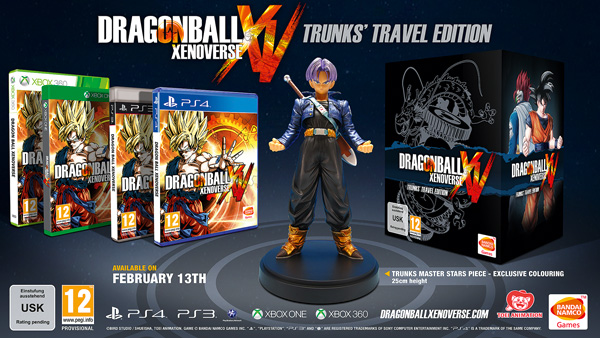 Dragon Ball Xenoverse Collector S Edition And Pre Orders Announced