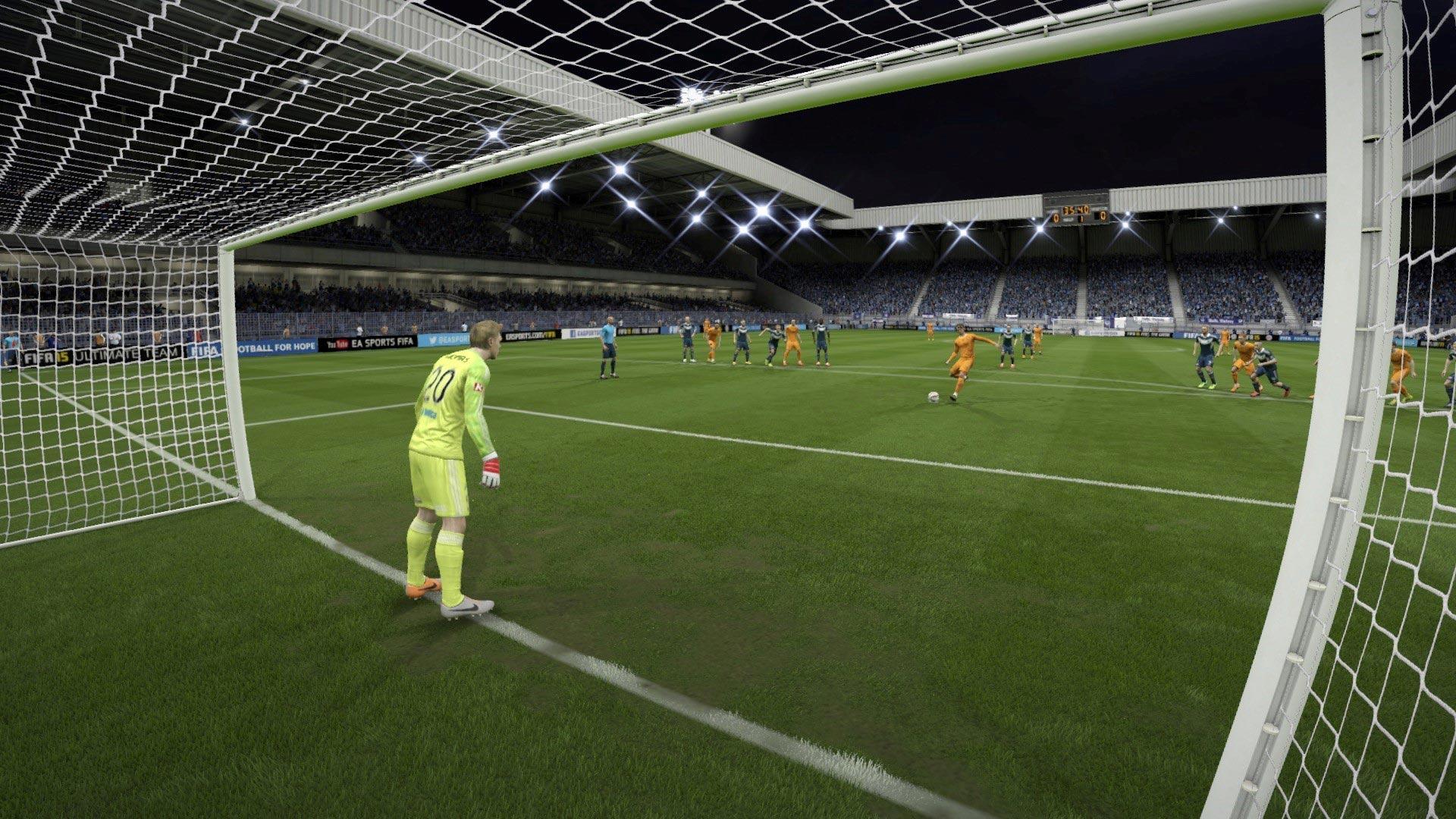 FIFA 15 Career 0-1 MVC V BRI, 1st Half