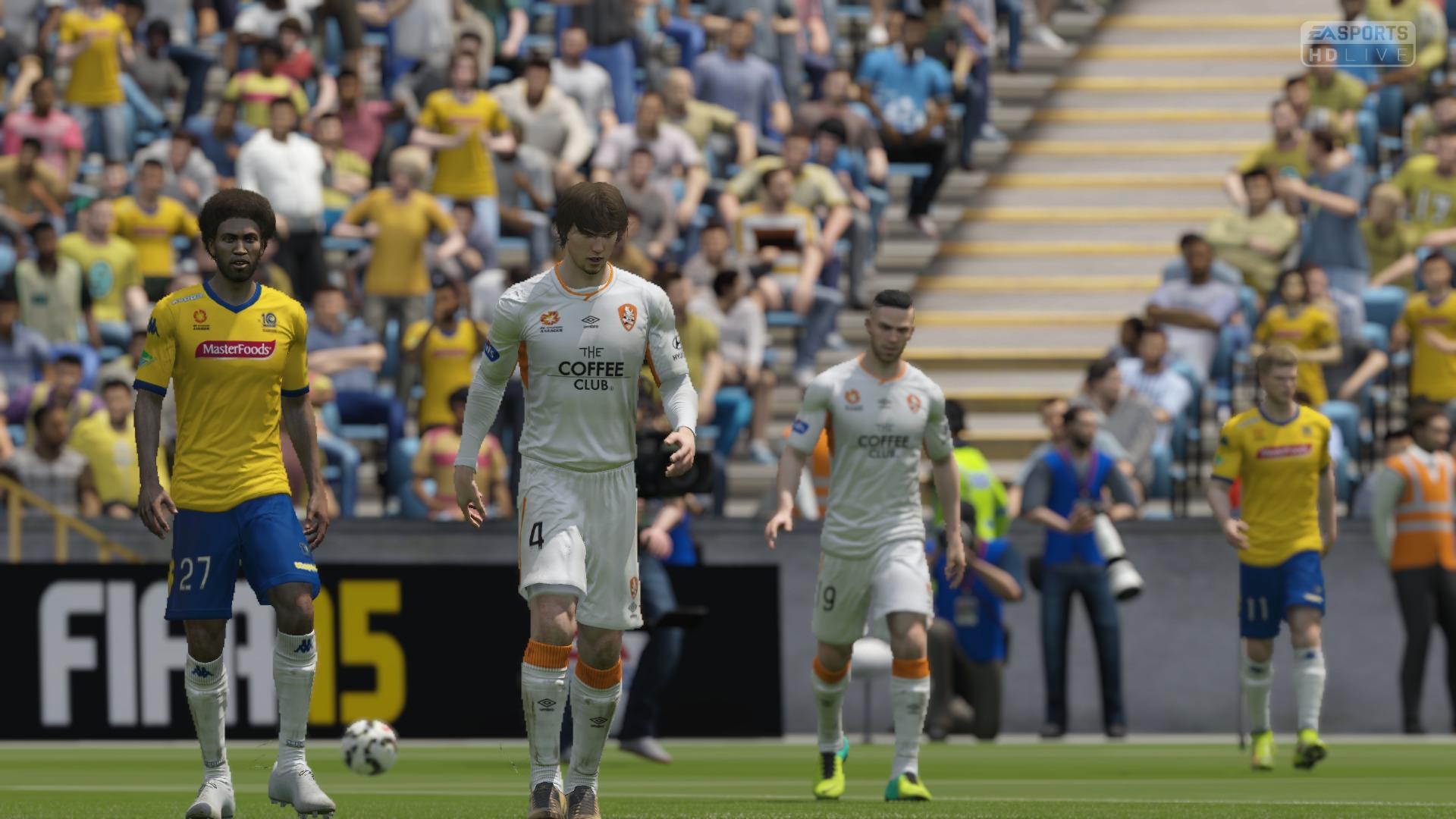 FIFA 15 Career 0-2 CCM V BRI, 1st Half