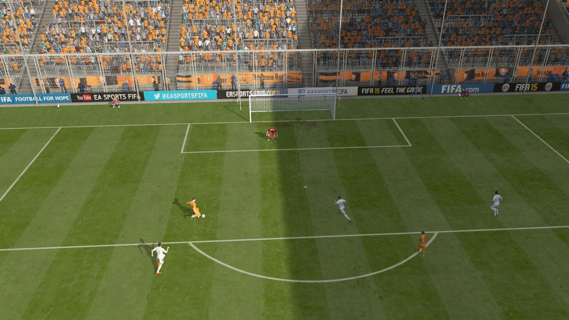 FIFA 15 Career 3-0 BRI V WEL, 1st Half