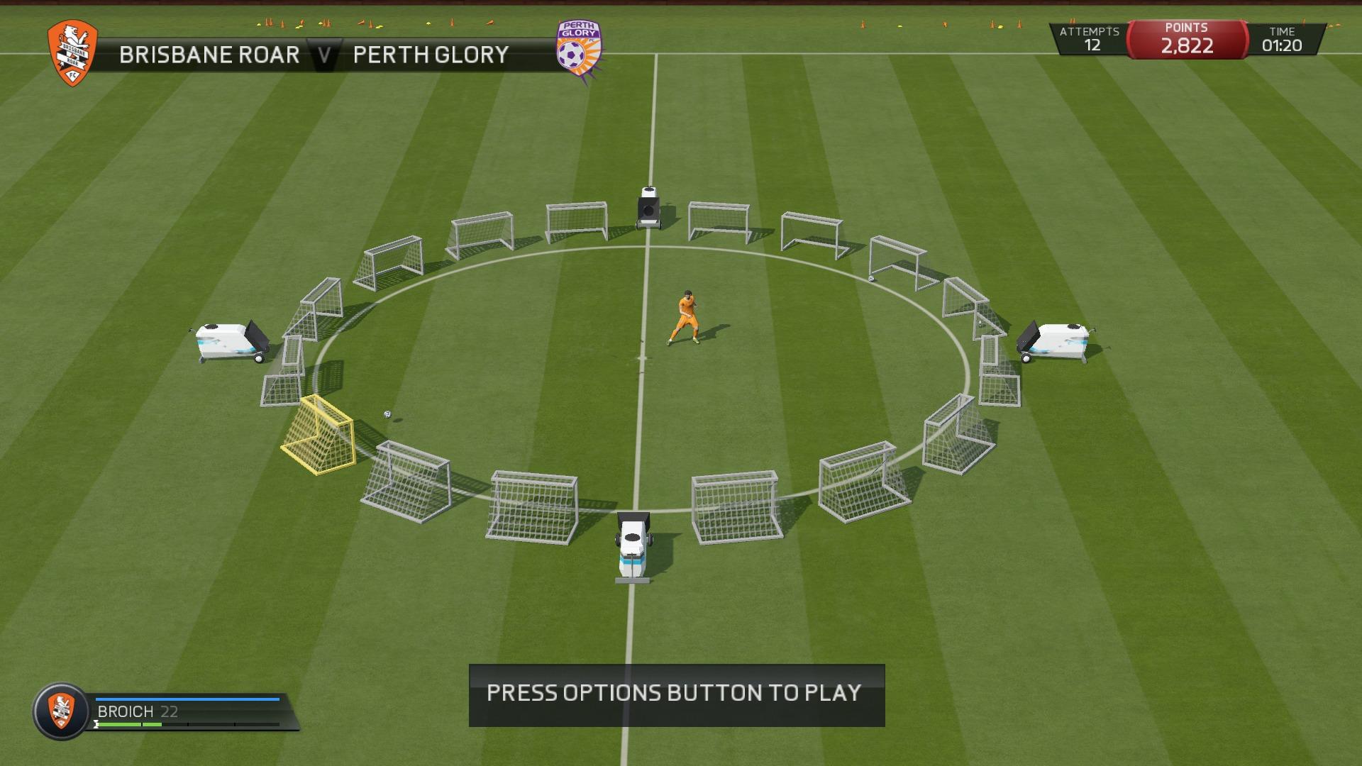 FIFA 15 Practicing