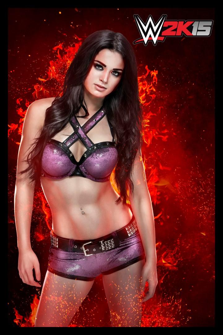 WWE2K15_Paige