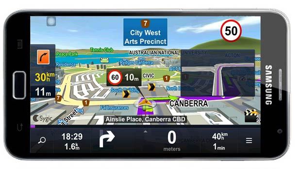 Sygic Review Android Impulse Gamer - Sygic gps review