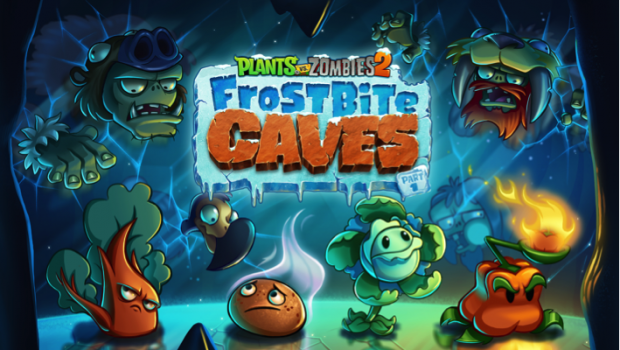 Plants vs zombies 2 frostbite caves part 1 is blowing in impulse