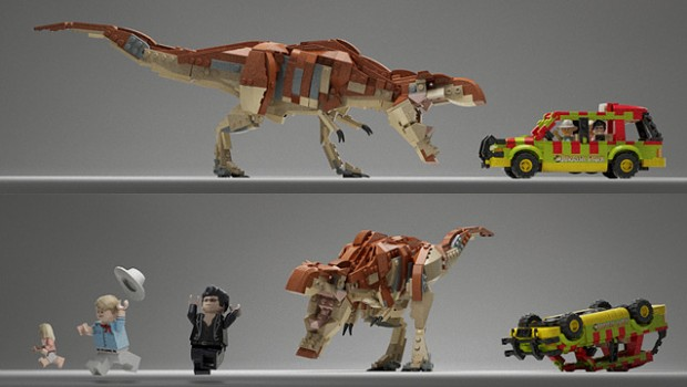 Wb Games Amp Lego Reveal First Trailer For Lego Jurassic