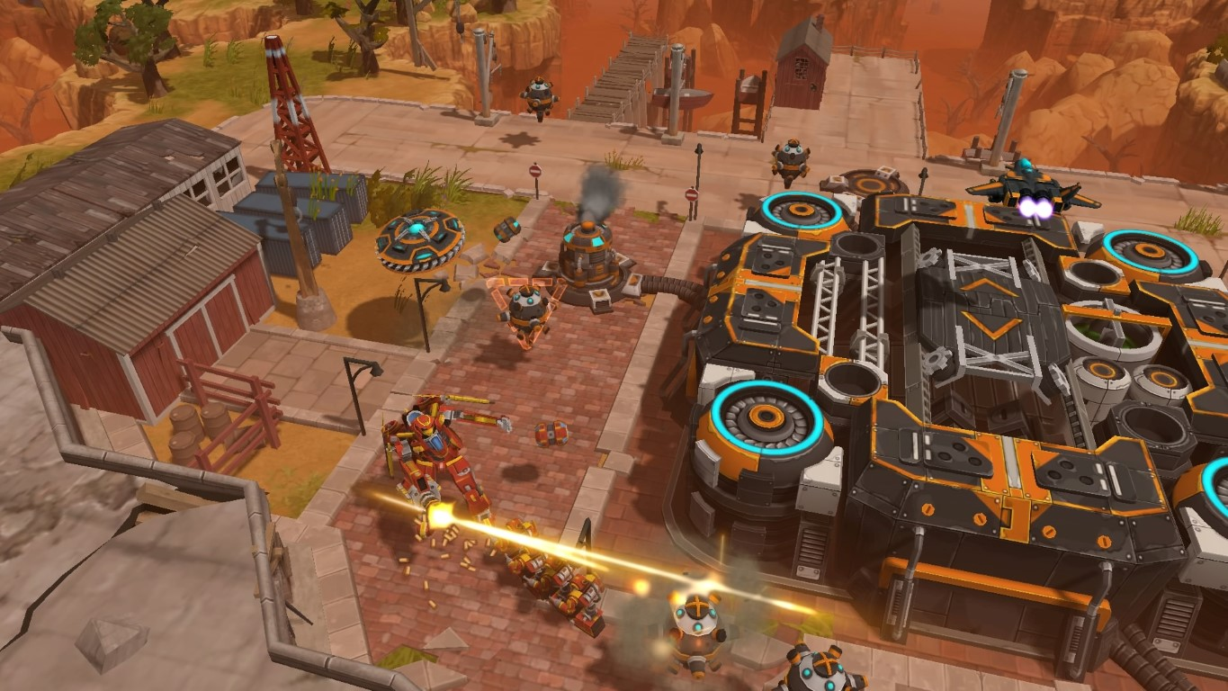 UBISOFT® ANNOUNCES AIRMECH ARENA WILL BE AVAILABLE FOR XBOX ONE AND