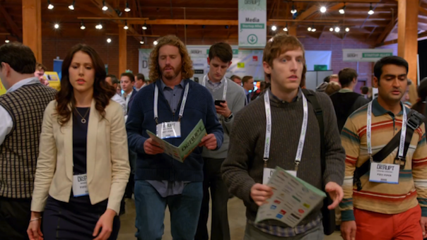 Amanda-Crew-T.J.-Miller-Zach-Woods-Thomas-Middleditch-and-Kumail-Nanjiani-in-Silicon-Valley