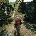 The_Witcher_3_Wild_Hunt_beautiful_day_for_a_walk_in_a_monster_infested_garden