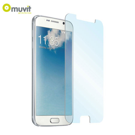 muvit anti shock tempered glass samsung galaxy s6 screen protector look