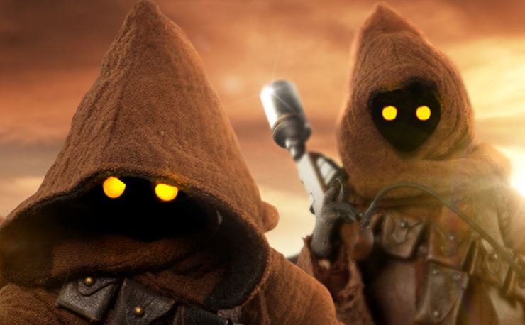 Jawa Sixth Scale Figure Set from Sideshow Collectibles ...