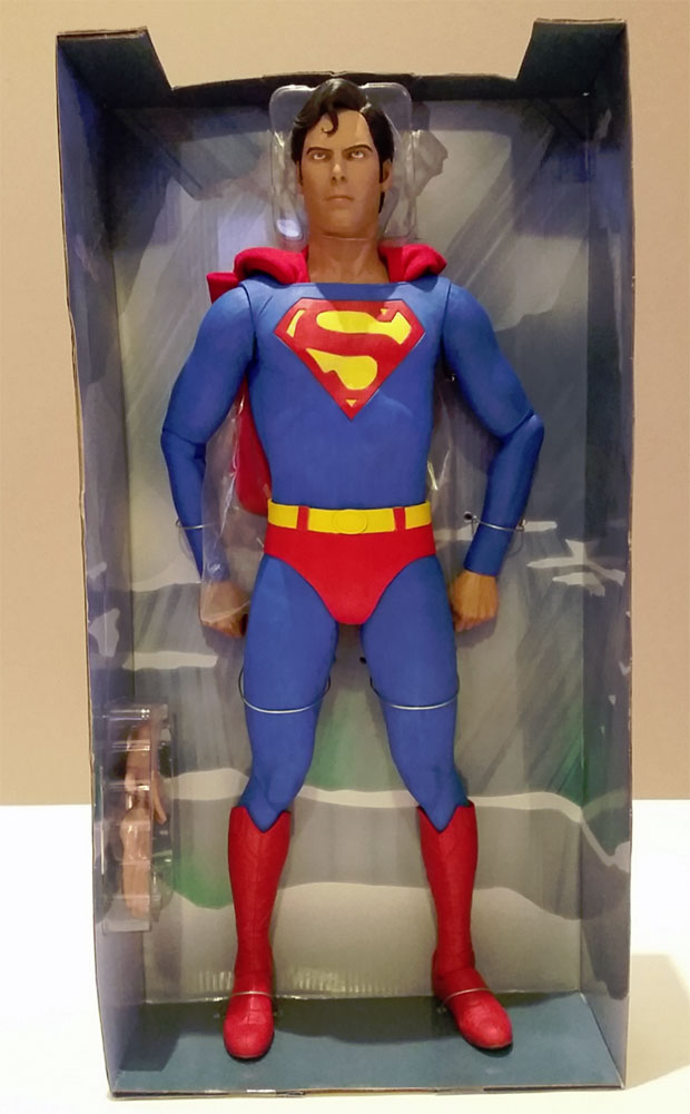Neca Superman Christopher Reeve 1 4 Scale Action Figure