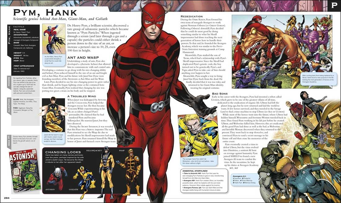marvel avengers encyclopedia book review impulse gamer