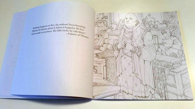 theofficialgameofthronescolouringbook04 - Colouring Book Game