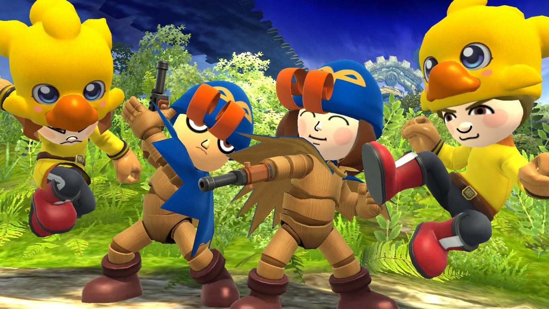 Geno & Chocobo Mii Fighter Costume