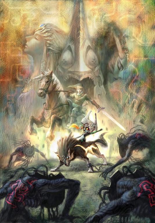 The Legend of Zelda Twilight Princess HD illu 2