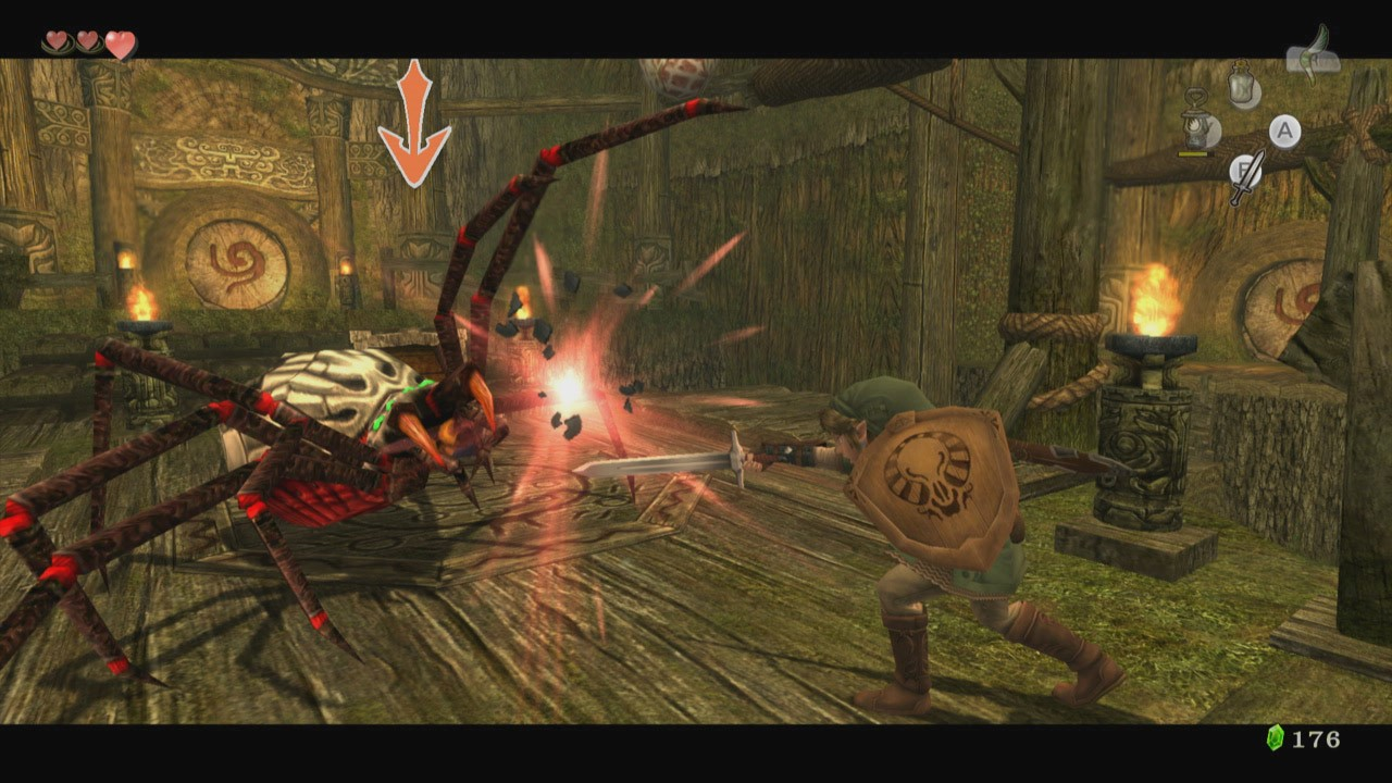 The Legend of Zelda Twilight Princess HD screenshot Hero_ Mode