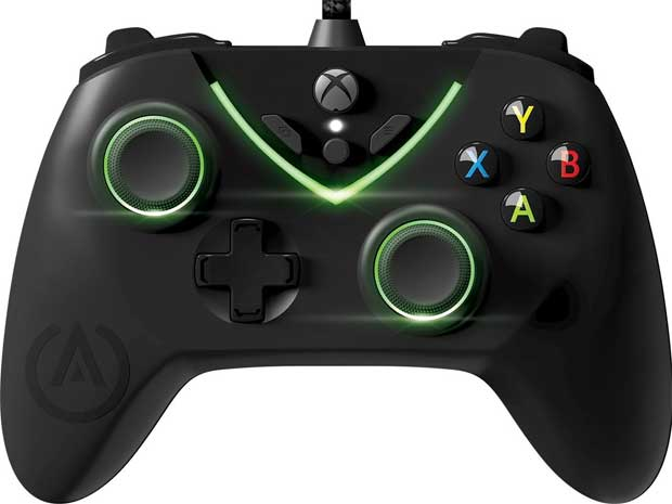 On The Back Of Controller Are Two Trigger Lock Locks Rapid Firing With Four Advanced Gaming Buttons To Give You An Edge In Your Virtual Worlds As