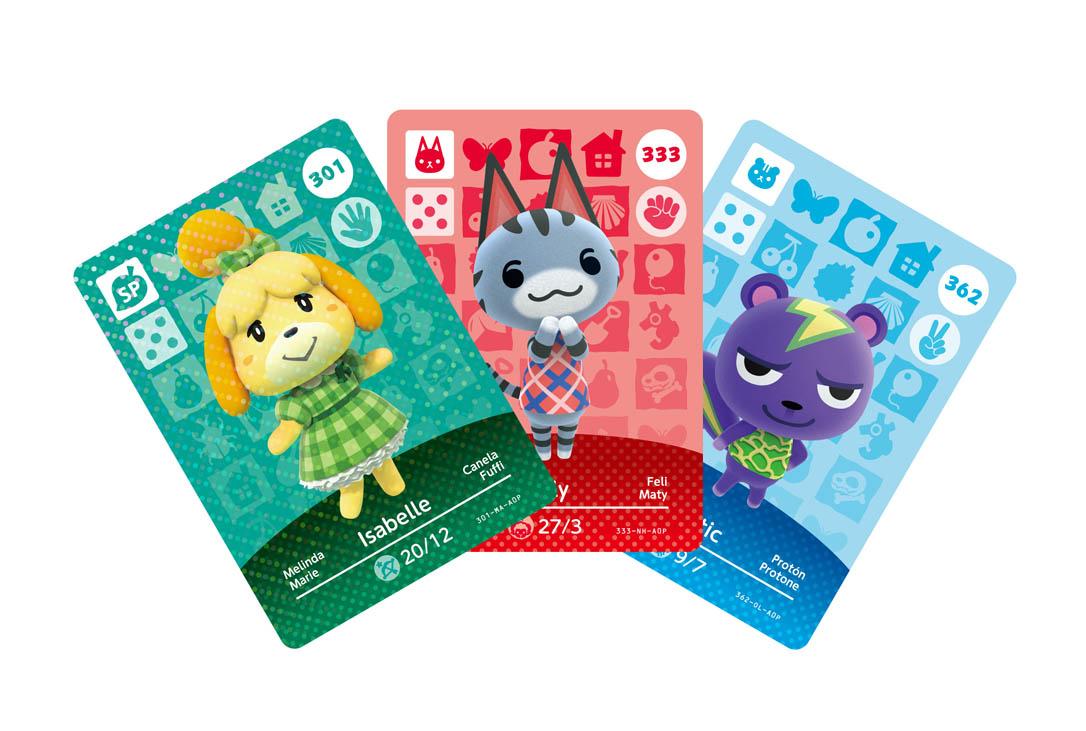 Nintendo Direct 0403 Animal Crossing amiibo cards series 4