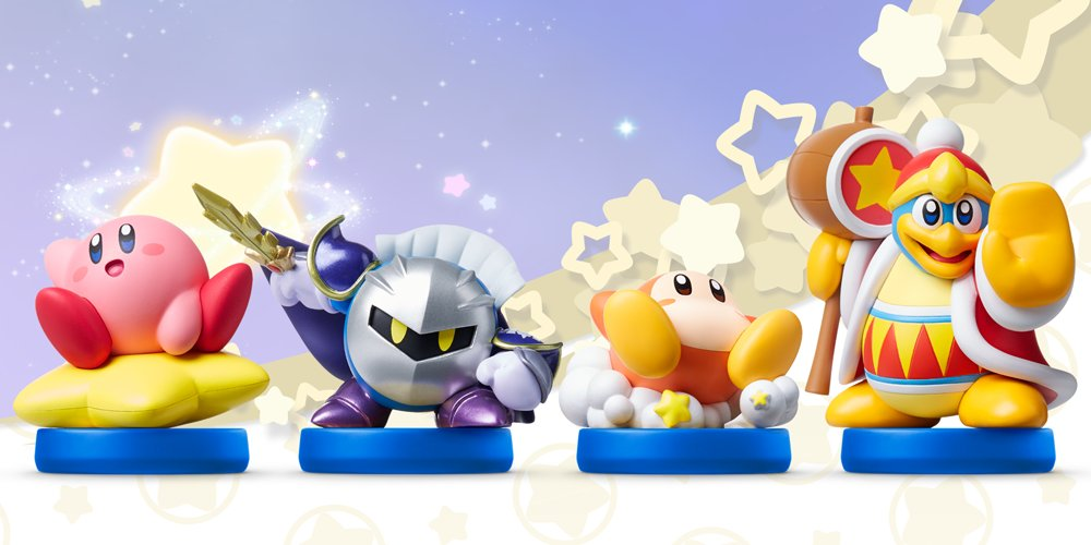 Nintendo Direct 0403 Kirby amiibo