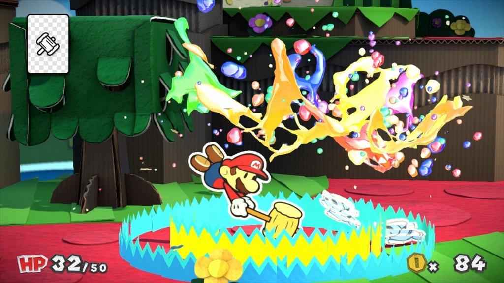 Nintendo Direct 0403 Paper Mario Color Splash