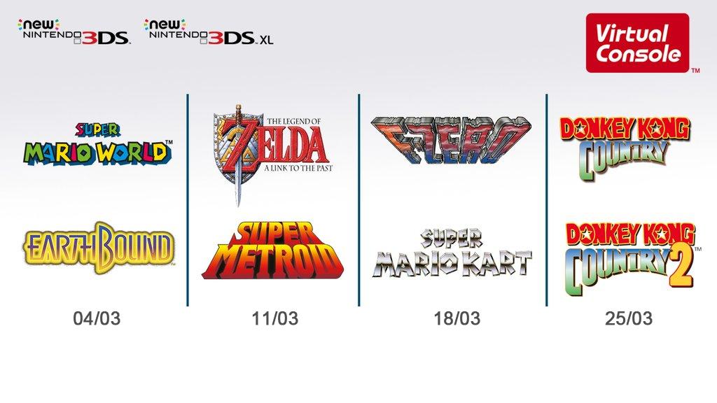 Nintendo Direct 0403 Super NES Virtual Console