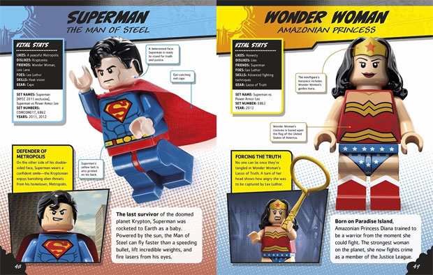 LEGO DC Comics Super Heroes Character Encyclopedia Review