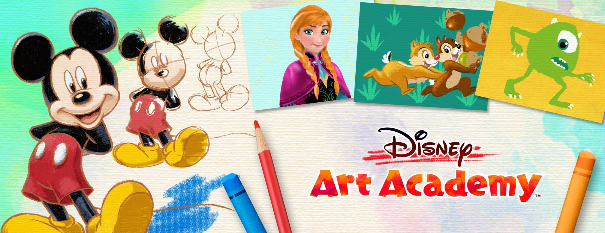 Disney Art Academy illustration
