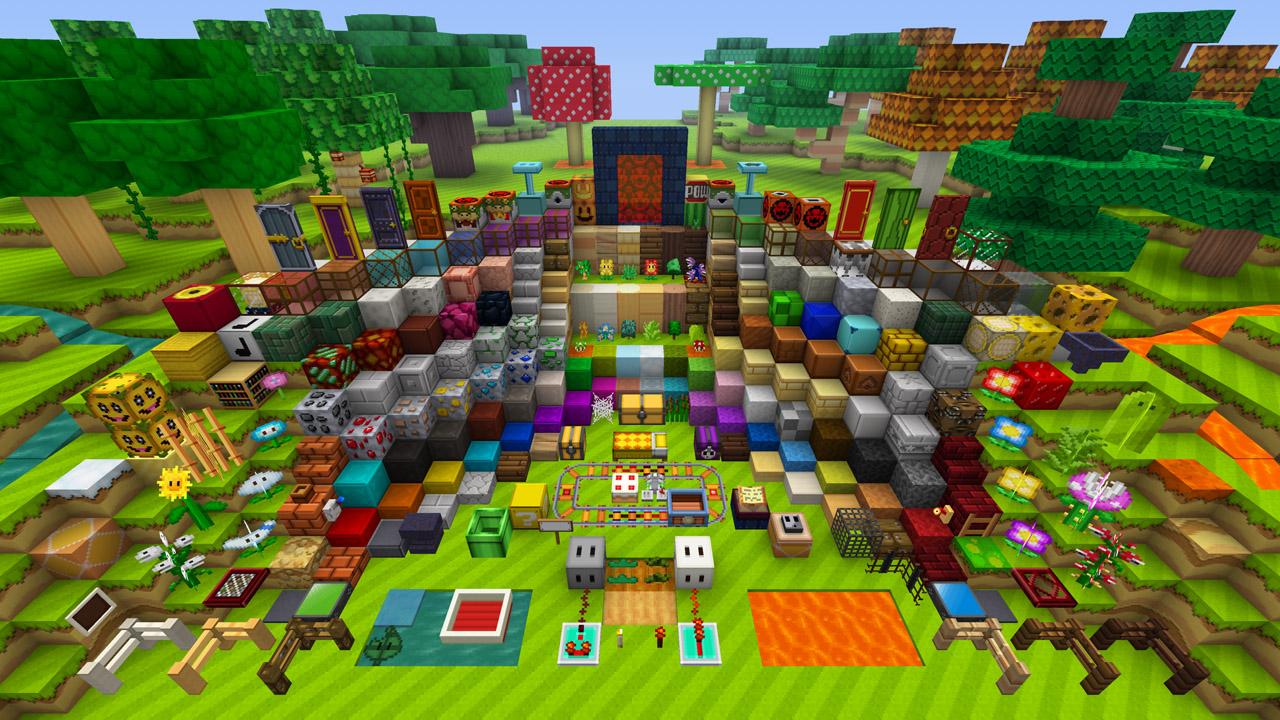 Minecraft_WiiU_MashupPack_Mario_Comparison