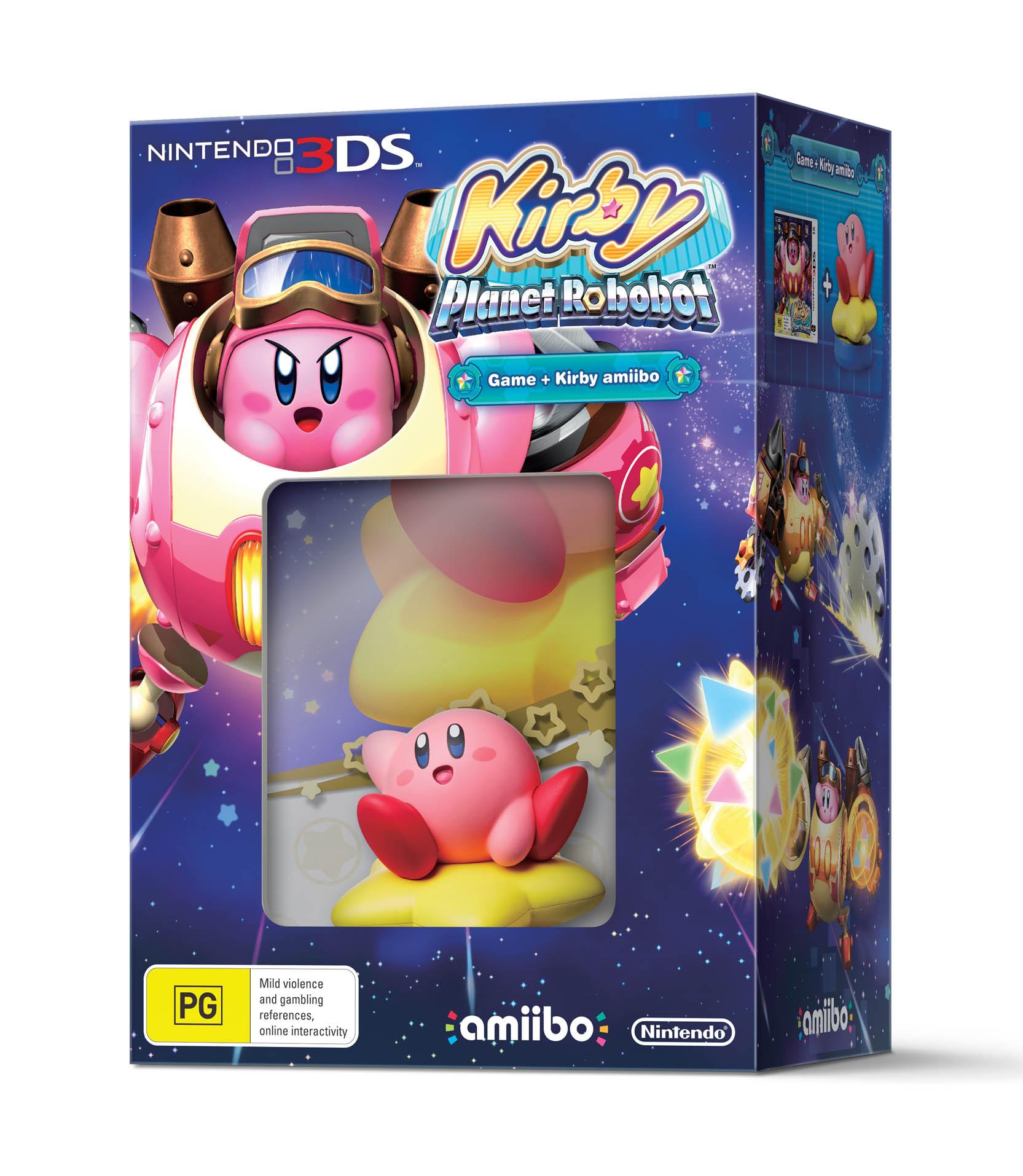 Kirby Planet Robobot bundle packshot