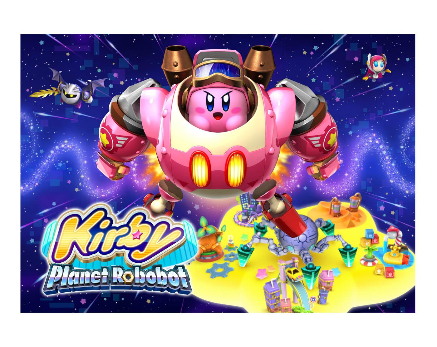 Kirby Planet Robobot illu