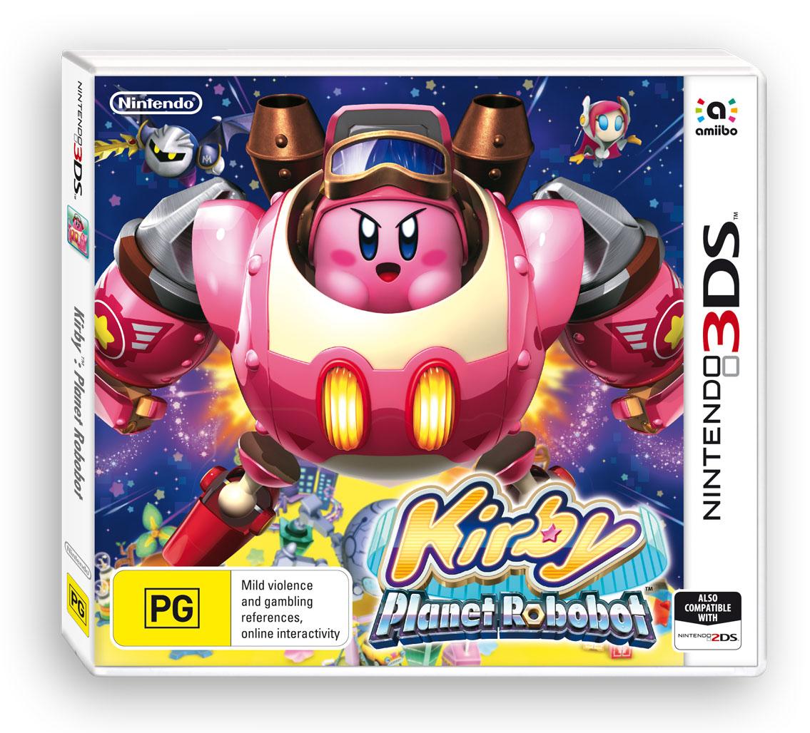 Kirby Planet Robobot packshot