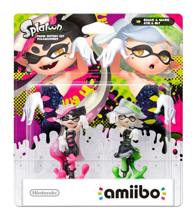 amiibo Splatoon Sisters Double Pack