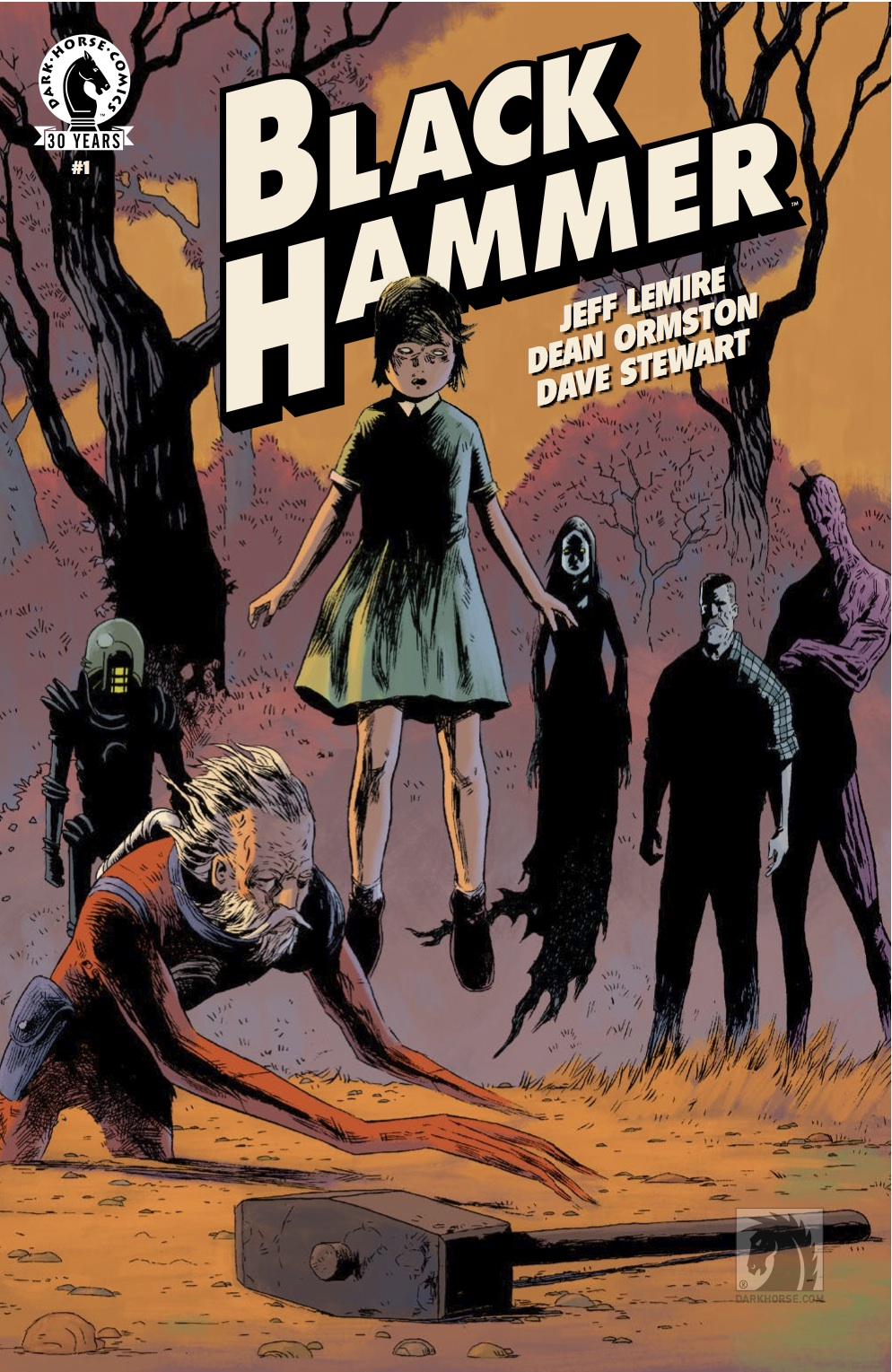 Black Hammer cover