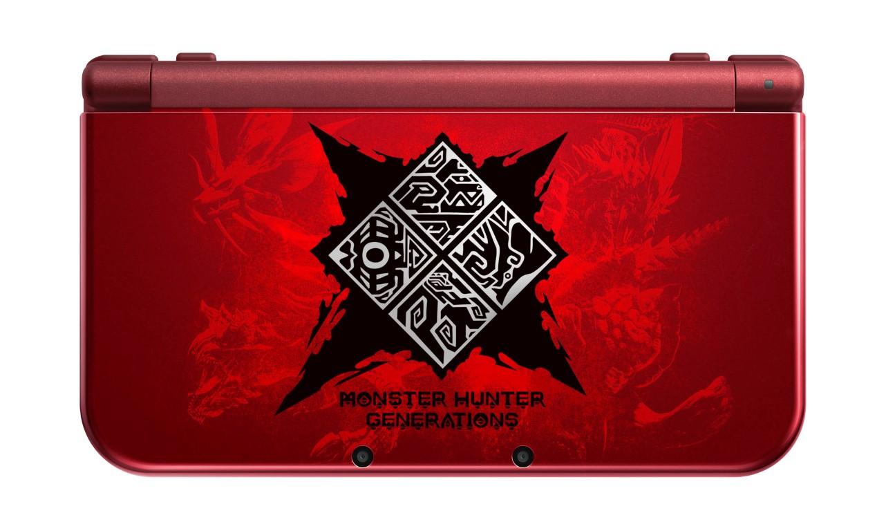 New Nintendo 3DS XL Monster Hunter Generations Edition (2)