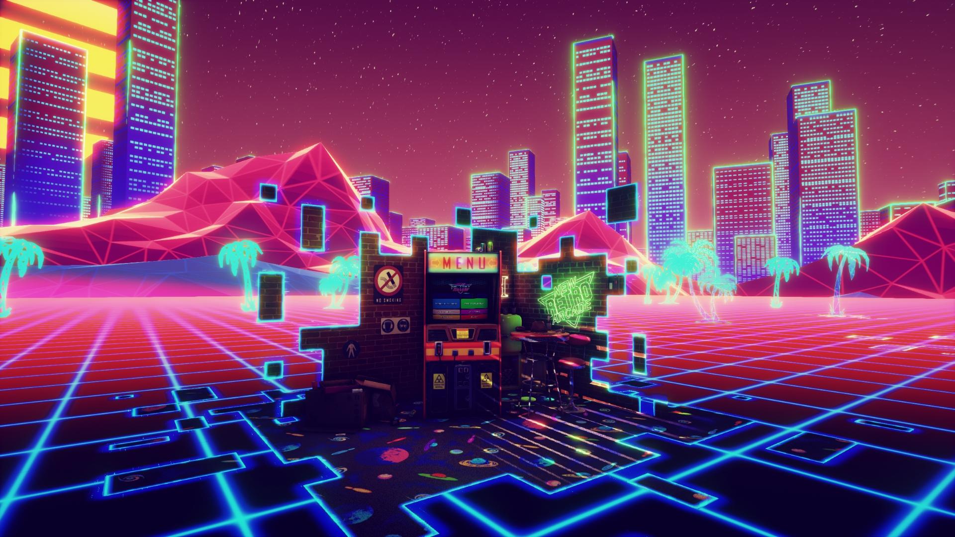New Retro Arcade Neon 4