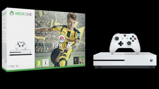 new xbox one s bundles with fifa 17 announced impulse gamer. Black Bedroom Furniture Sets. Home Design Ideas
