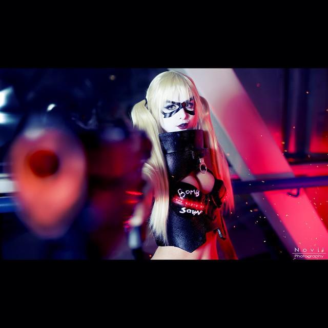 zombiebitmeshantelknight-harleyquinn-Novii Photography